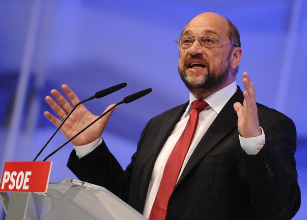 Jako szef MSZ Schulz musiałby czasami milczeć /AFP