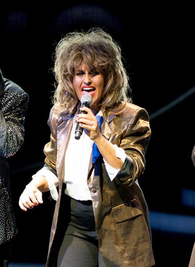 ...jako Tina Turner /Polsat