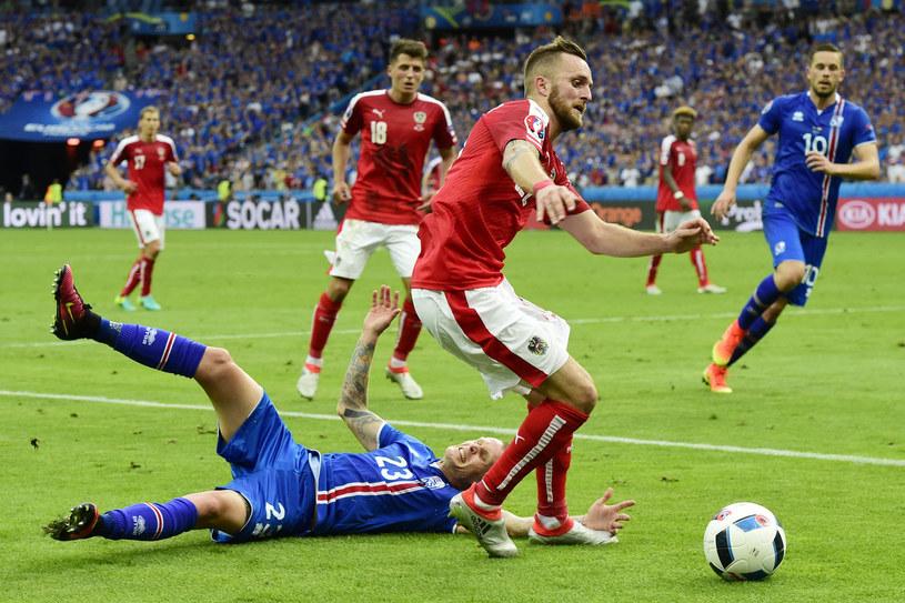 Jakob Jantscher podczas Euro 2016 /AFP