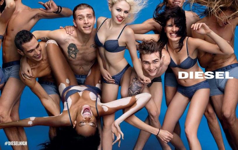 Jakość materiałów, dbałość o szczegóły i kontrowersyjne kampanie reklamowe - to wyróżnia markę Diesel /Diesel /materiały prasowe