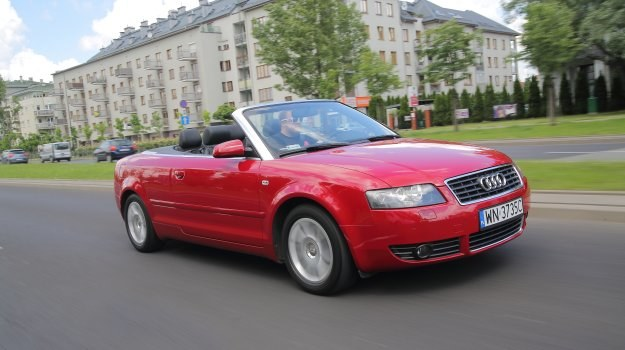 u ywane audi a4 cabrio b6 2002 2006 magazynauto. Black Bedroom Furniture Sets. Home Design Ideas