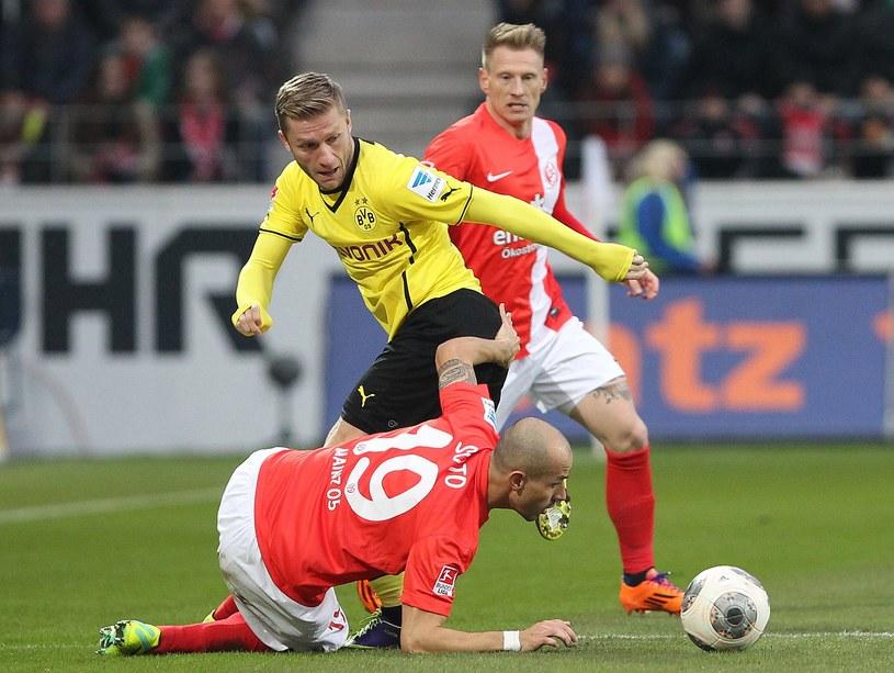 Jakub Błaszczykowski doznał kontuzji w meczu z FSV Mainz /AFP