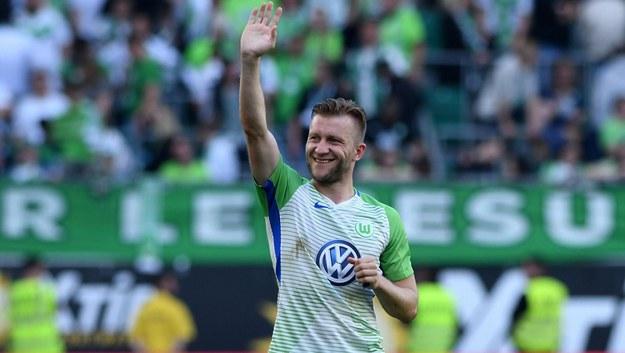 Jakub Błaszczykowski grał w Wolfsburgu od sierpnia 2016 roku /Revierfoto /PAP/DPA
