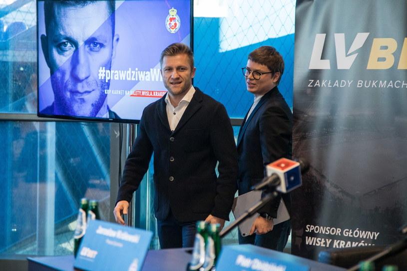 Jakub Błaszczykowski i Jarosław Królewski /Jan Graczyński /East News