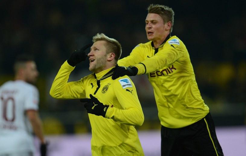 Jakub Błaszczykowski i Łukasz Piszczek, to zgrany duet klubowy Borussiii Dortmund. /AFP