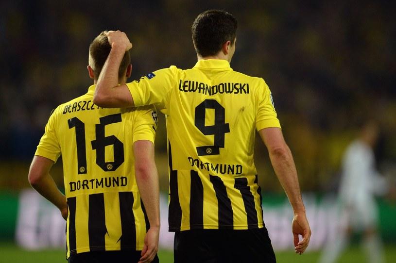 Jakub Błaszczykowski i Robert Lewandowski po jednej stronie barykady już tylko w reprezentacji Polski, a nie w Borussii Dortmund. /AFP