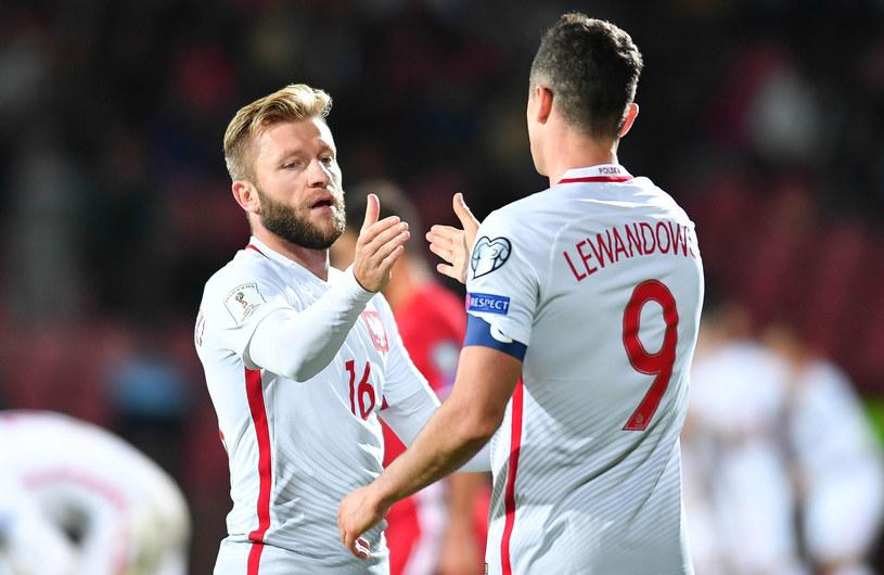 Jakub Błaszczykowski i Robert Lewandowski /Pawel Andrachiewicz  /Getty Images