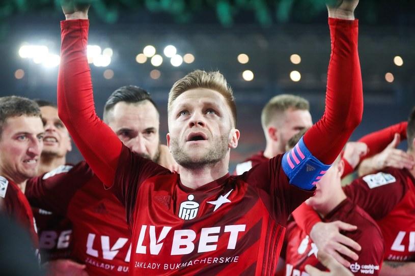 Jakub Błaszczykowski po strzeleniu gola Śląskowi Wrocław /Beata Zawrzel /East News
