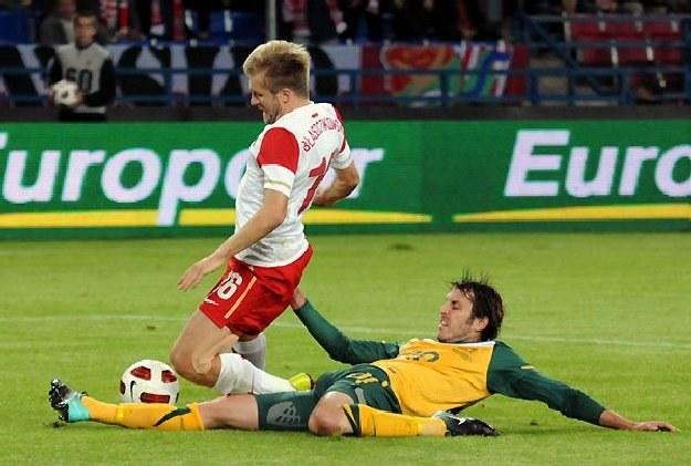 Jakub Błaszczykowski podczas meczu reprezentacji Polski z Australią (1-2)  fot: Joanna Żmijewska /INTERIA.PL