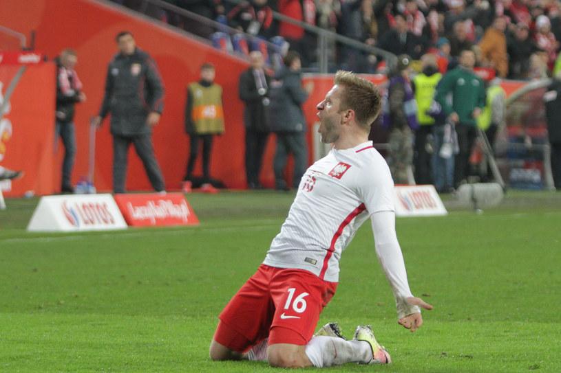 Jakub Błaszczykowski strzelił jedynego gola w meczu z Serbią /Fot. Andrzej Grupa /INTERIA.PL