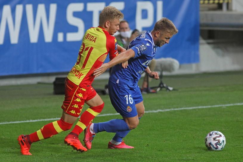 Jakub Błaszczykowski w meczu z Jagiellonią Białystok / Artur Reszko    /PAP