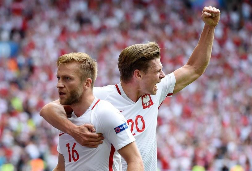 Jakub Błaszczykowski (z lewej) i Łukasz Piszczek podczas Euro 2016 /AFP