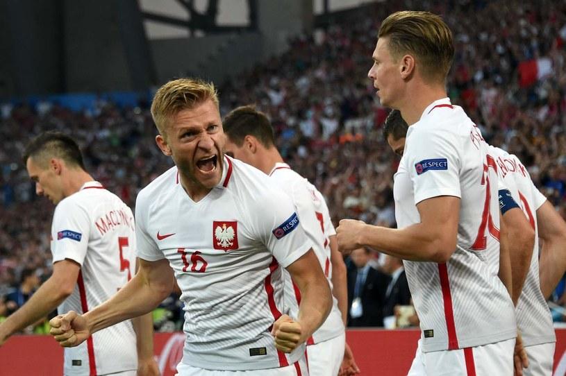 Jakub Błaszczykowski (z lewej) i Łukasz Piszczek /AFP