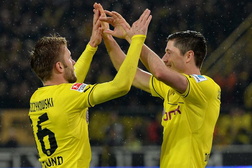 Jakub Błaszczykowski (z lewej) i Robert Lewandowski w Borussii Dortmund razem już nie zagrają, ale w reprezentacji jak najbardziej /Getty Images