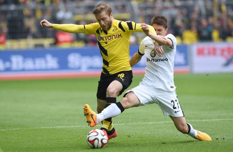 Jakub Błaszczykowski (z lewej) tu jeszcze w barwach Borussii Dortmund /AFP