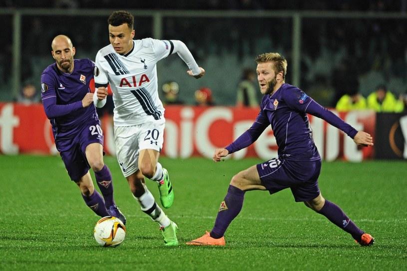 Jakub Błaszczykowski (z prawej) w meczu z Tottenhamem /PAP/EPA
