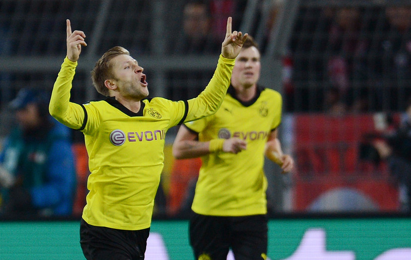 Jakub Błaszczykowski zdobył gola w meczu z Fortuną Duesseldorf /AFP
