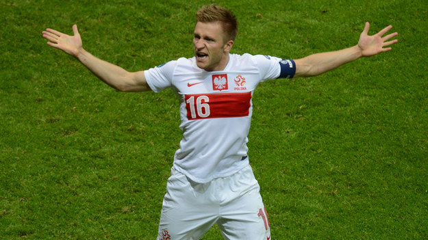 Jakub Błaszczykowski - zdobywca pierwszego gola w meczu z Czarnogórą /DIMITAR DILKOFF /AFP