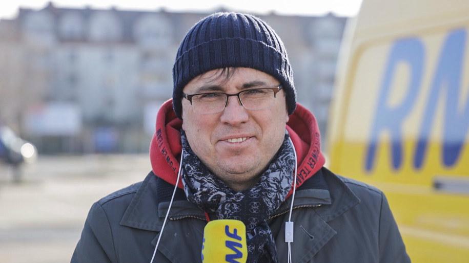 Jakub Borowski, ekonomista i wykładowca Szkoły Głównej Handlowej /Michał Dukaczewski /RMF FM