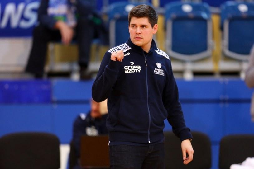 Jakub Głuszak, trener Chemika /Piotr Matusewicz /East News