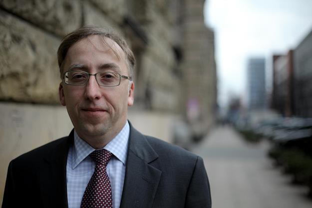 Jakub Karnowski, prezes Grupy PKP. Fot. SŁAWOMIR KAMIŃSKI AGENCJA GAZETA /