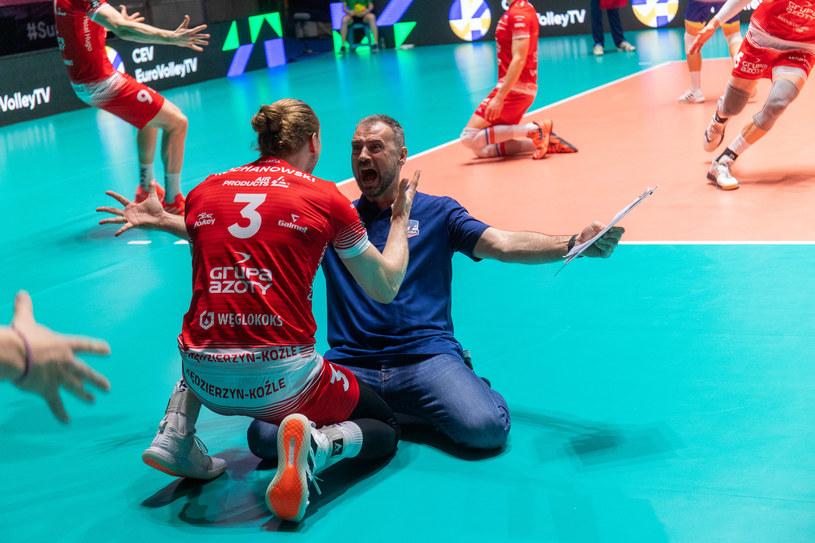 Jakub Kochanowski i Nikola Grbić /www.cev.eu