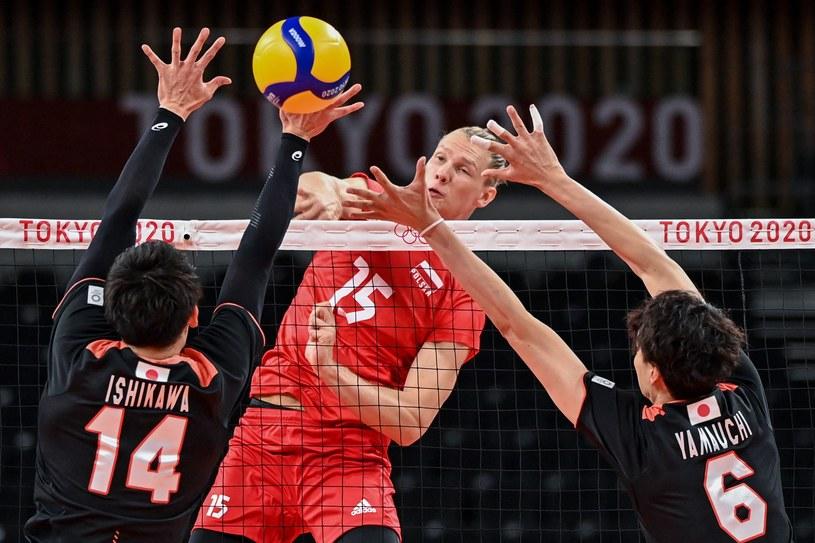 Jakub Kochanowski w meczu z Japonią /AFP