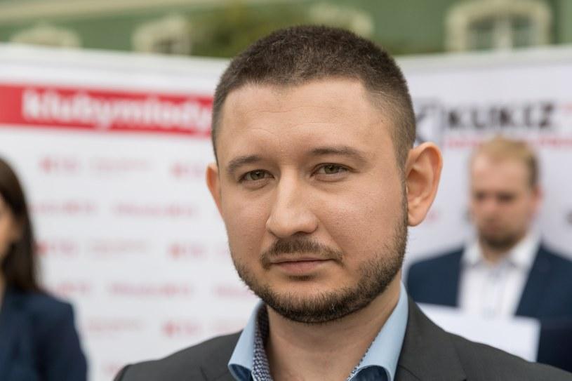 Jakub Kozieł, kandydat Koalicji Antysystemowej na prezydenta Szczecina /Robert Stachnik /Reporter
