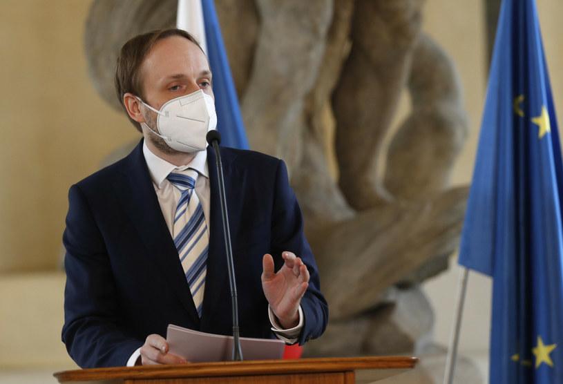 Jakub Kulhanek - nowy szef czeskiego resortu spraw zagranicznych /AP/Associated Press/East News /East News