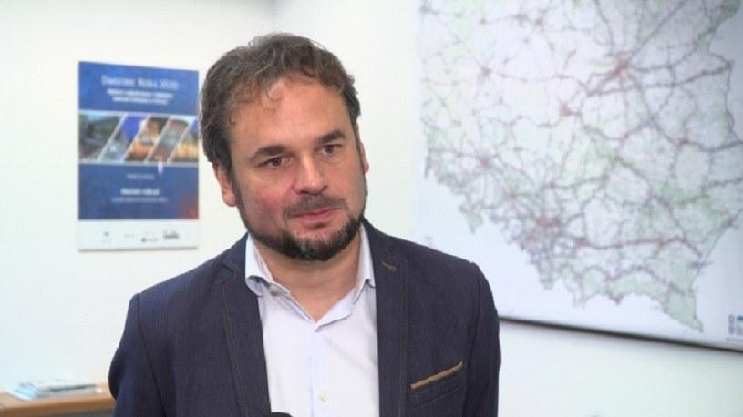 Jakub Majewski, prezes Fundacji Pro Kolej /Newseria Biznes