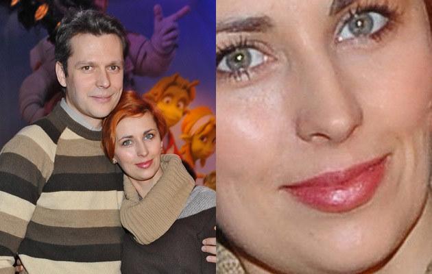 Jakub Przebindowski z żoną Martyną, fot.Andras Szilagyi  /MWMedia