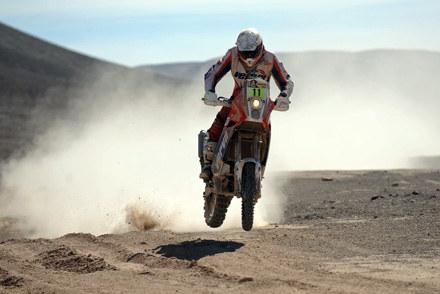 Jakub Przygoński zajął 9. miejsce i w klasyfikacji generalnej  jest 17 /AFP