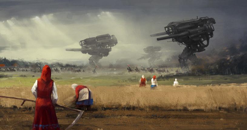 "Jakub Różalski, ""Before the storm"", źródło: www.artstation.com/artist/jakubrozalski /INTERIA.PL"