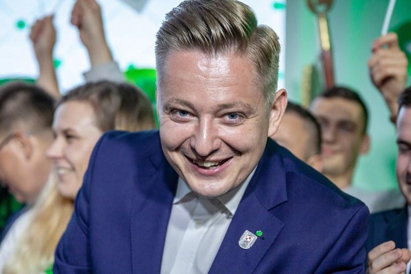 Jakub Stefaniak, kandydat PSL /Grzegorz Banaszak /Reporter