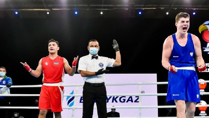Jakub Straszewski (po prawej) /PZB/AIBA /Informacja prasowa