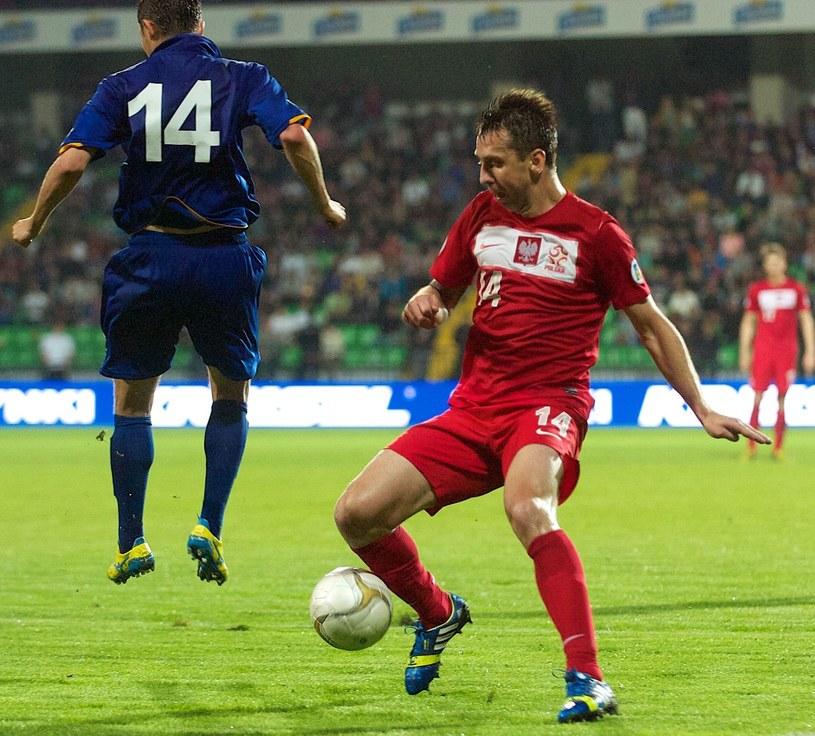 Jakub Wawrzyniak 40 razy wystąpił w reprezentacji Polski /AFP