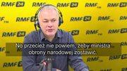 Jakubiak: Będzie łatwiej, jeżeli panowie Szyszko, Macierewicz, Waszczykowski odejdą
