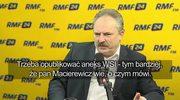 Jakubiak o aneksie do raportu z likwidacji WSI: Ma być opublikowany. Musimy wyczyścić wodę