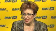 Jakubowska w RMF FM: Tusk nie wystartuje w wyborach