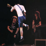 Jam session z AC/DC /