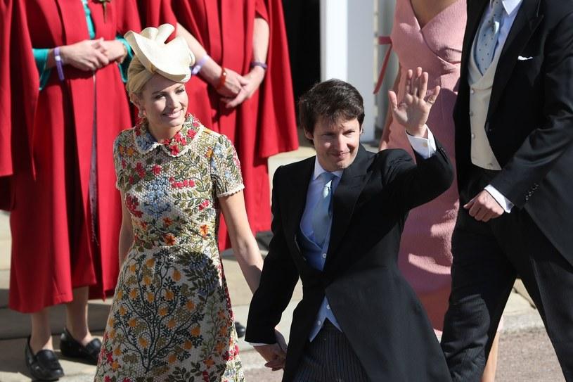 James Blunt podczas książęcego ślubu /East News
