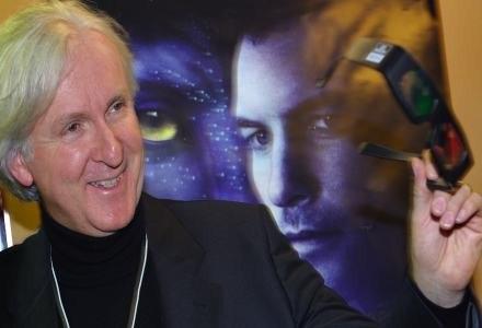 """James Cameron przy kręceniu """"Avatara"""" stworzył nowe standardy dla kinematografii /AFP"""