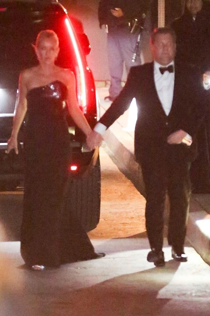 James Corden z żoną /BACKGRID /Agencja FORUM