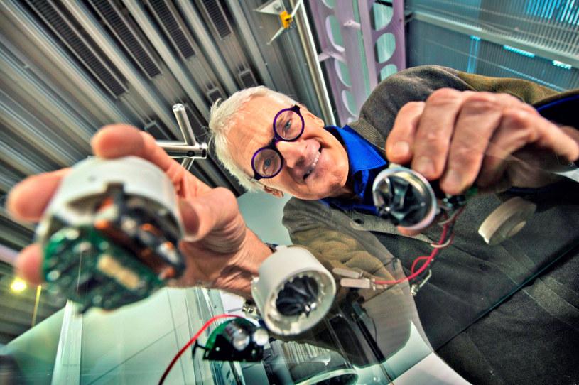 James Dyson od zawsze miał głowę pełną pomysłów /materiały prasowe