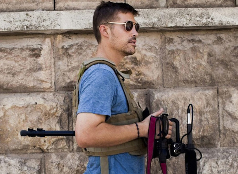 James Foley, dziennikarz poddany przez Państwo Islamskie dekapitacji /Nicole Tung /PAP/EPA