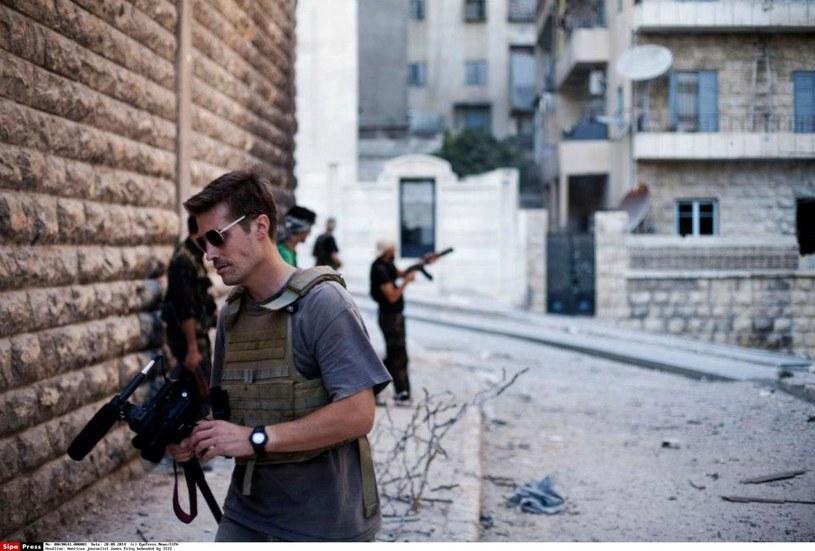 James Foley  został zamorodowany przez dżihadystów /EyePress News/SIPA /East News