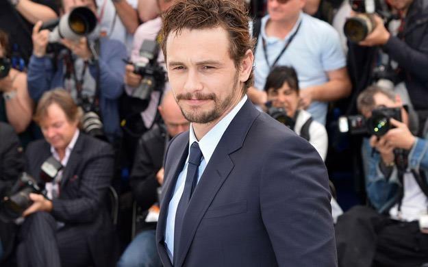 James Franco był gościem tegorocznego festiwalu w Cannes /AFP