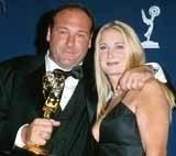 James Gandolfini z ex-żoną /INTERIA.PL