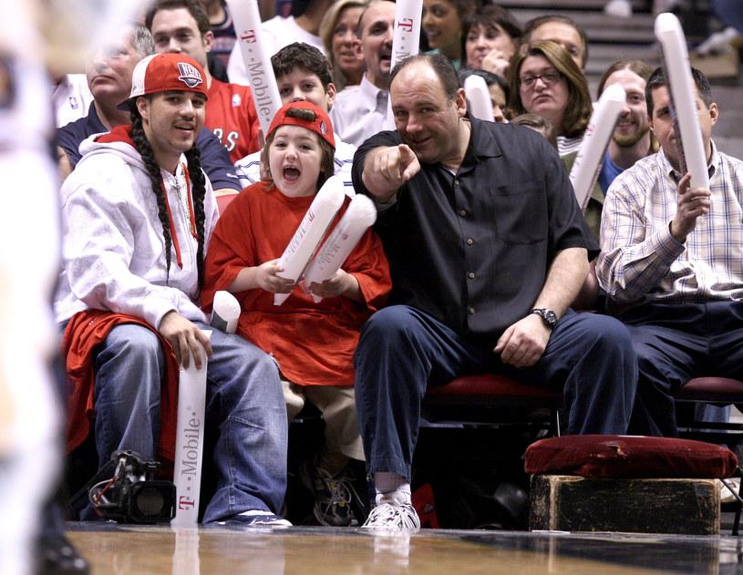 James Gandolfini z synem /James Devaney/WireImage /Getty Images