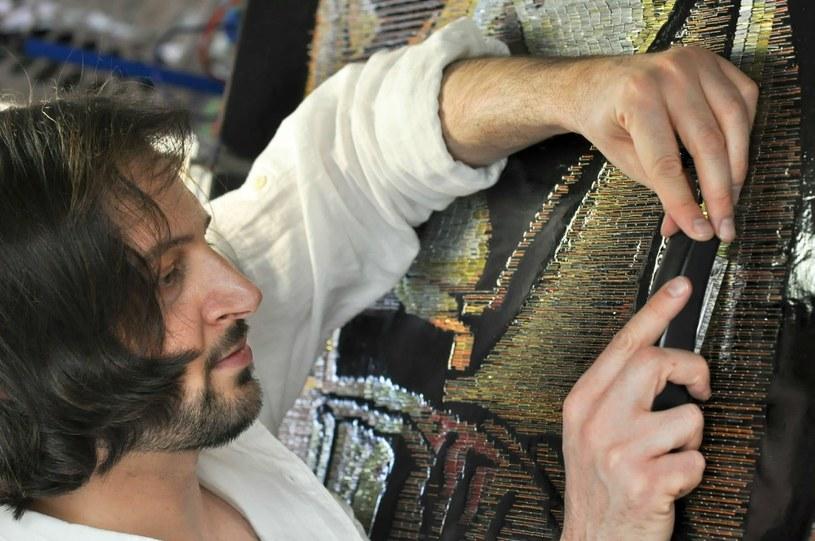 James Haggerty jedną mozaikę tworzy około sześciu miesięcy /facebook.com/The-Art-of-James-Haggerty /materiały prasowe